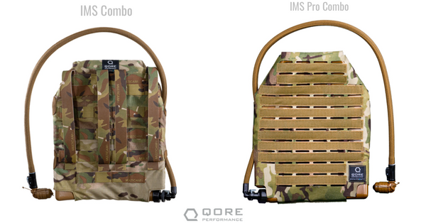IMS vs IMS Pro: MOLLE plate carrier hydration, body armor cooling, body armor heating, plate carrier cooling, plate carrier heating