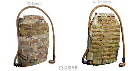 MOLLE plate carrier hydration, body armor cooling IMS and IMS Pro
