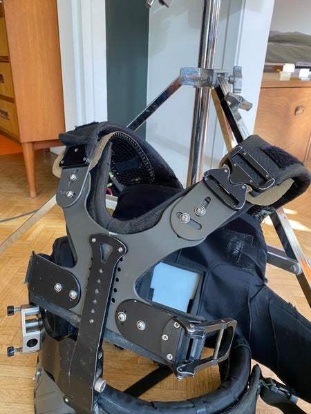 Vented pads for Stedicam, Ready Rig, Slingshot Rig 2.0, FLEX Harness Camera Support Systems