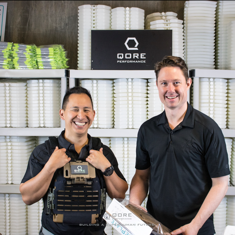Qore Performance Co-Founders Justin Li and J.D. Willcox won the 2019 FedEx Small Business Grant Competition