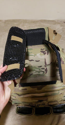 IceVents Classic plate carrier shoulder pads for military and law enforcement
