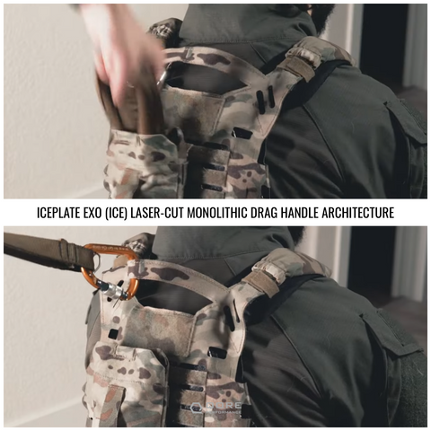 IcePlate EXO plate Carrier ice strength testing on deployment