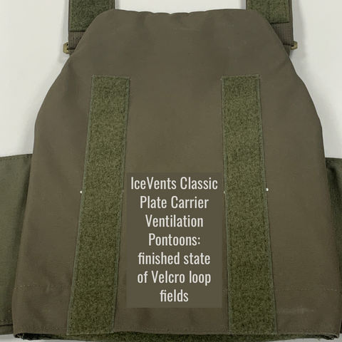 IceVents Classic Plate Carrier Ventilation Pontoons