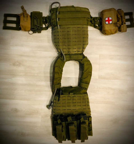 IcePlate Curve is the perfect cooling/hydration system for 5.11 TacTec Plate Carrier for Tactical Games, Crossfit Games