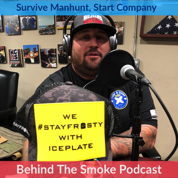 Qore Performance IcePlate on Behind The Smoke Podcast with Cali Comfort BBQ and Valley Farm Market