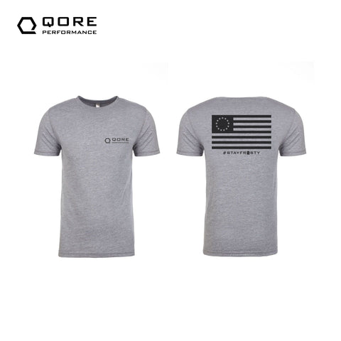 Betsy Ross t-shirt super soft, athletic fit by Qore Performance