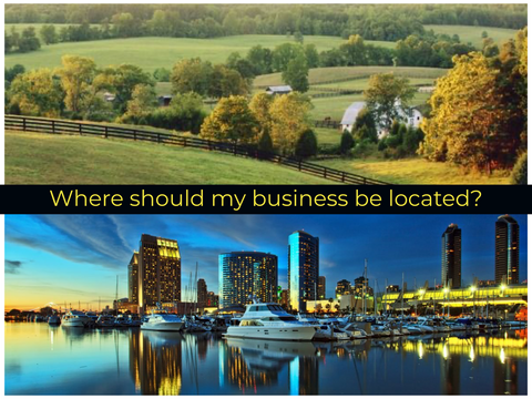 Where should my business be located?
