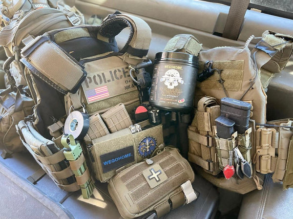 IceVents Classic Ventilated Plate Carrier Shoulder Pads used by Chicago PD SWAT