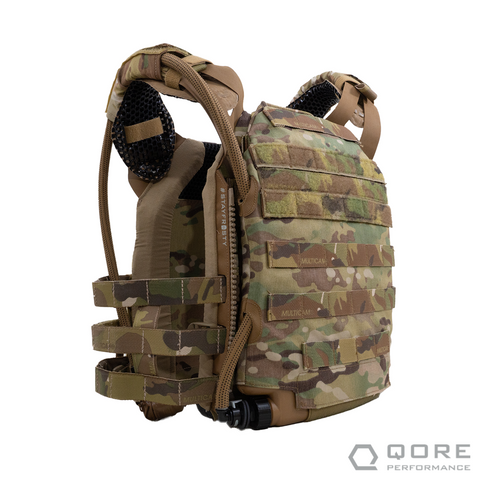 IMS external conformal MOLLE hard cell plate carrier hydration by Qore Performance