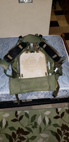 IceVents Classic plate carrier shoulder pads and IcePlate Curve plate carrier hydration for military and law enforcement
