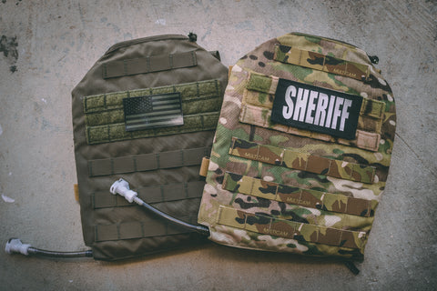 IcePlate MOLLE Sleeve 6 in Ranger Green and MultiCam