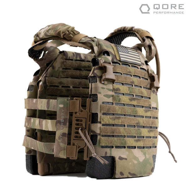 IcePlate EXO (ICE) Ultralight Ventilated Plate Carrier with integrated Cooling, Heating, Hydration with MOLLE Cummerbund