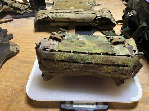 hydrophobic plate carrier water retention test