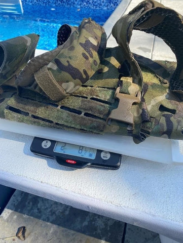 IcePlate EXO (ICE) hydrophobic plate carrier water retention test