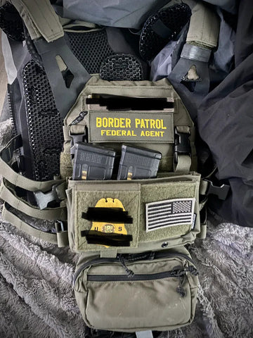 IceVents body armor and plate carrier ventilation as used by US Border Patrol