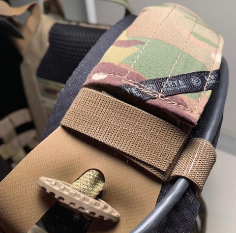 IceVents Classic ventilated plate carrier shoulder pads