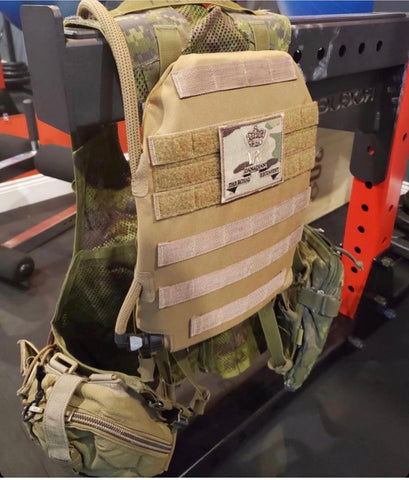IcePlate MOLLE Sleeve is the MOLLE Plate Carrier Hydration used by Canadian Armed Forces