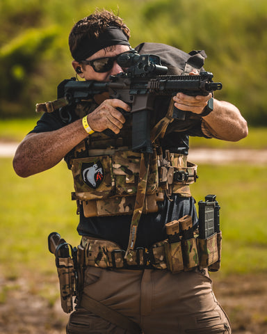 Combine IcePlate EXO (ICE) and IcePlate Curves for the best Tactical Games and Crossfit Games competition plate carrier