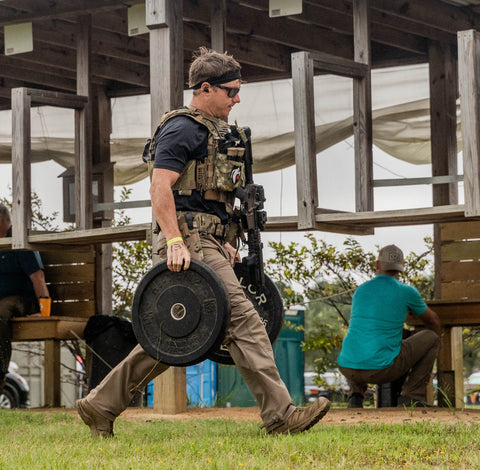 The best weighted plate for the Tactical Games and Crossfit is IcePlate Curve