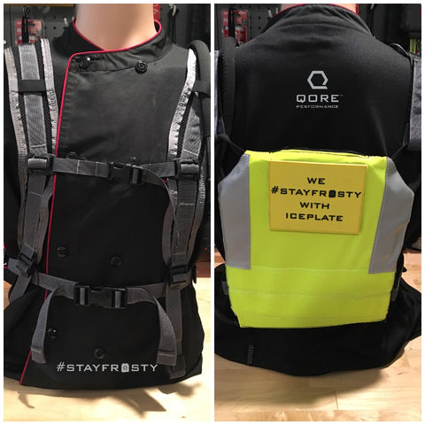 Comfort Harness with IPSV Sleeve (side by side view)
