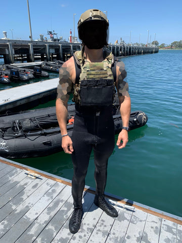 IcePlate EXO (ICE) ultralight ventilated special operations forces plate carrier in use with West Coast US Navy SEALs