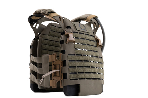 IcePlate EXO (ICE) ultralight ventilated plate carrier with cooling and heating for military, law enforcement, SOF, swat