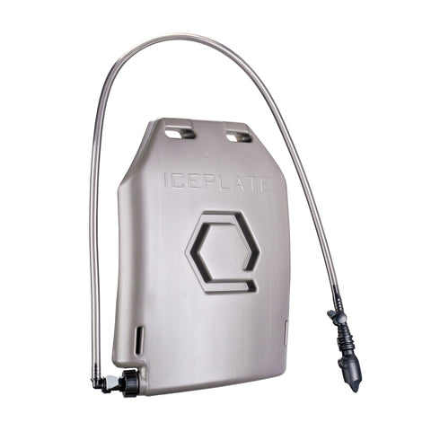 IcePlate Curve cools and heats your body with the water you are already carrying for hydration