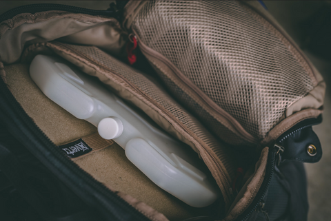 IcePlate is the best carry-on water bottle for frequent flyers