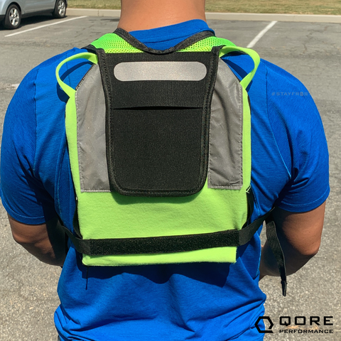 hands-free shoulder strap for IceCase iPad Cooling Case used by Dutch Bros Coffee, Chick-fil-A, boJangles