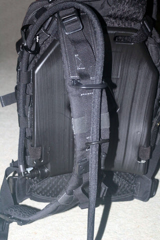 Maxpedition Falcon 3 with IcePlate Curve backpack hydration
