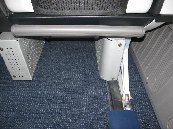 In-Flight Entertainment hardware boxes take up valuable foot space