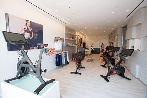 Peloton creates an immersive retail experience