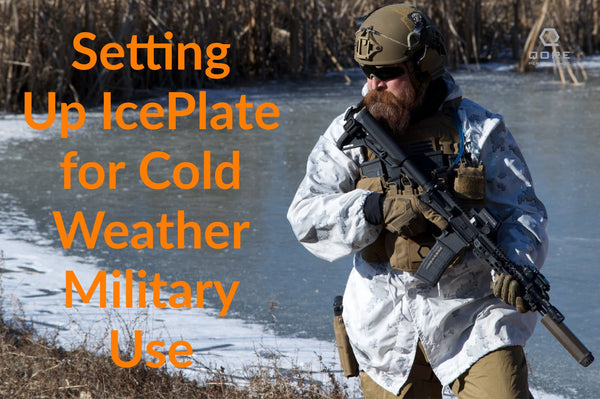 IcePlate is the best heating and hydration system for cold weather military operations