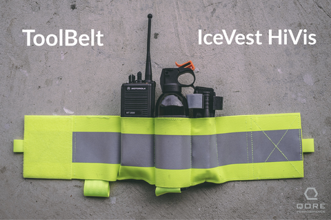 multi function utility tool belt for IceVest HiVis