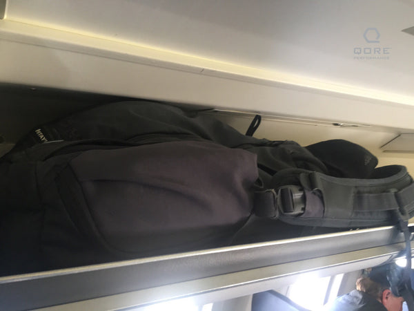 Vertx EDC Gamut with IcePlate fits in CRJ-200 Regional Jet overhead bins