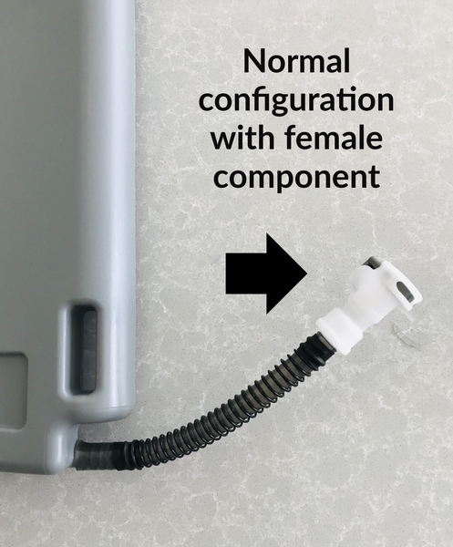 Female Quick Disconnect Component