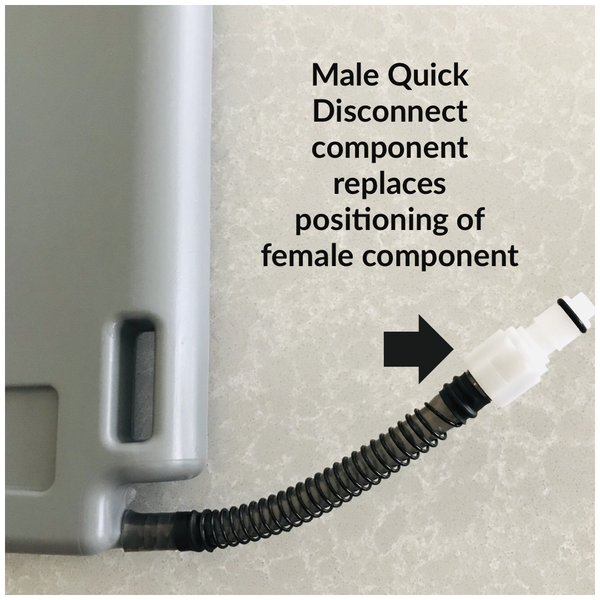 Male Quick Disconnect Component
