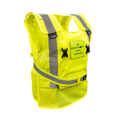 IceVest HiVis Cooling Safety Vest by Qore Performance