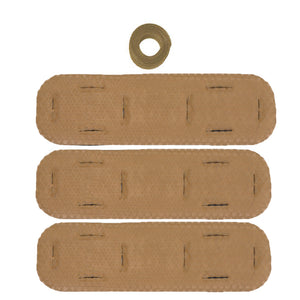 IceVents Classic (3-Pack): Universal Vented Padding for Military and Police Duty Belts and Tool Belts
