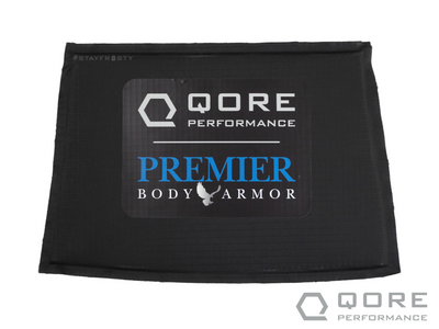Premier Body Armor Level IIIA soft body armor insert for IceShield Plus plate carrier hand warmer by Qore Performance