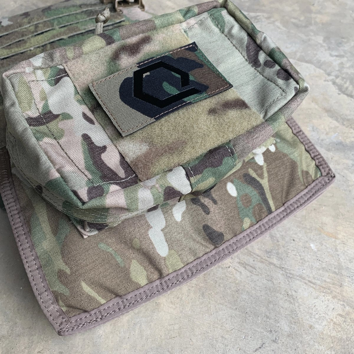 IceShield Plus: Hand Warmer plus Armor Pocket for Plate Carriers, Soft Armor Vests and Range Belts
