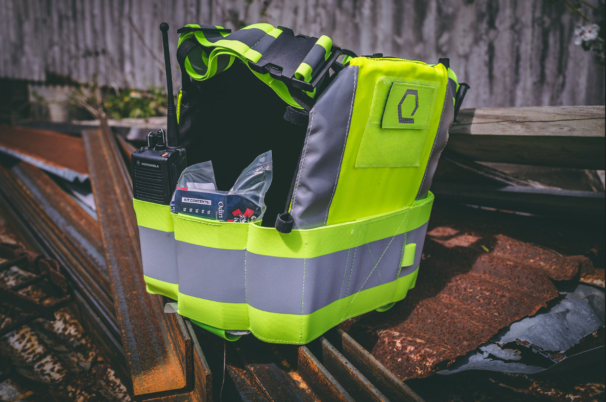 ToolBelt for IcePlate Safety Vest