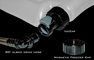 IceCap: Quick Disconnect Hydration Tube Adapter for IcePlate Curve, Dasani Bottled Water