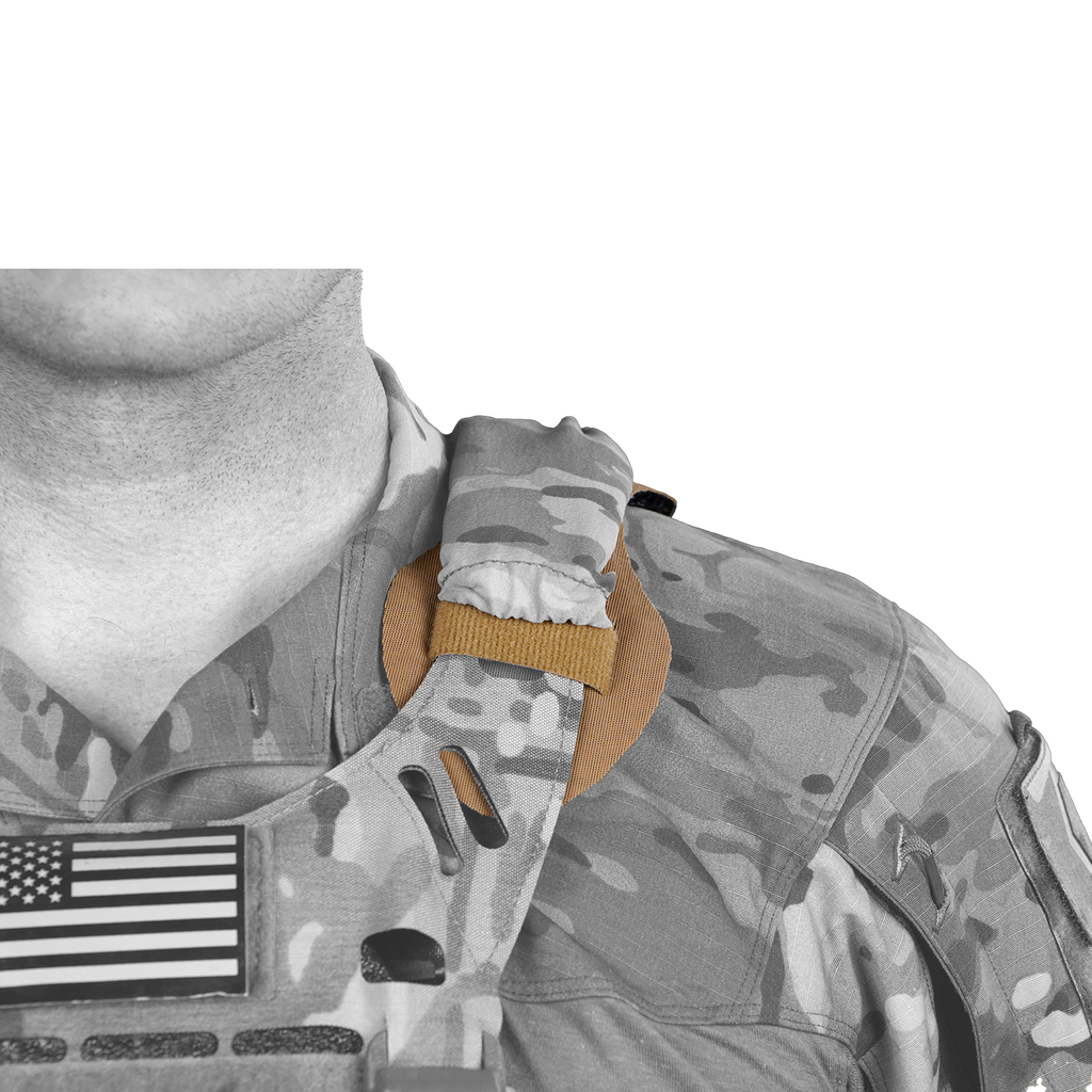 IceVents Aero (2-Pack): Universal Shoulder Pads for Plate Carriers / Backpacks / Rucks with Cord Management