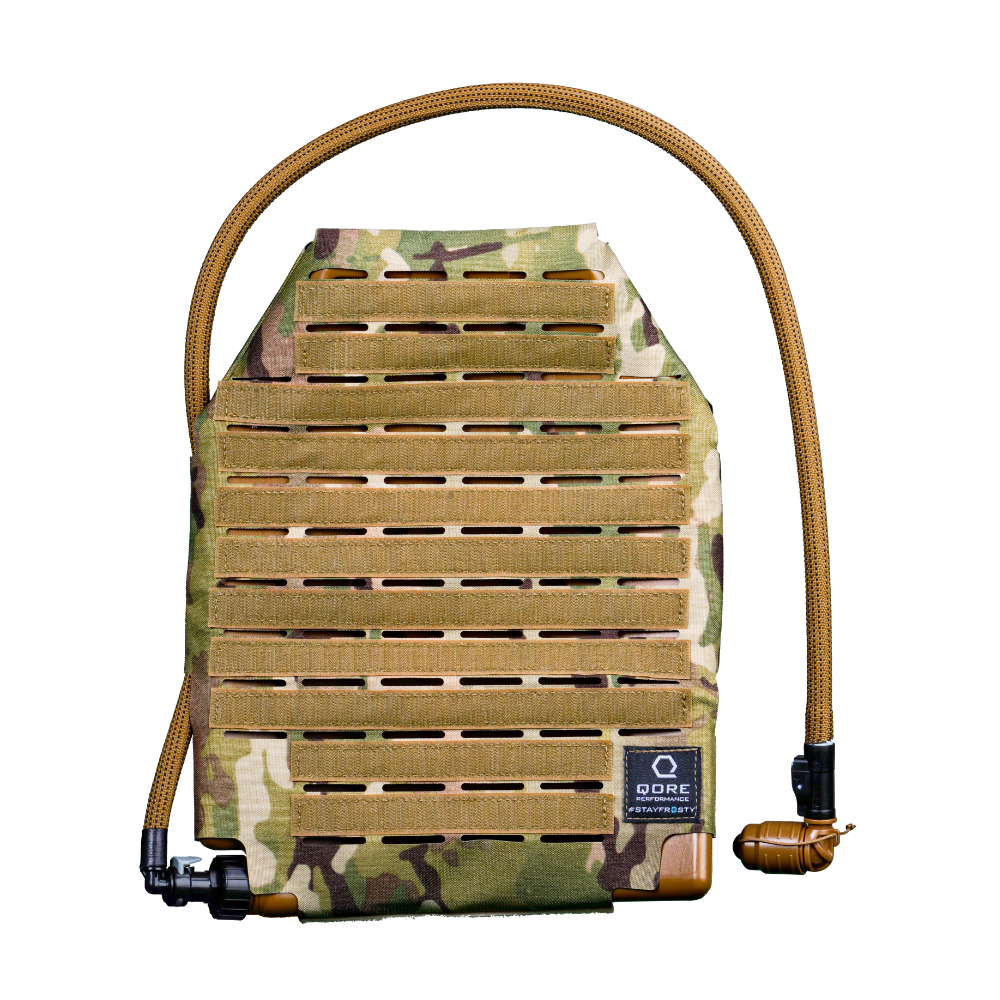 IcePlate Sleeve Combo: Hydration, Cooling, Heating for Plate Carriers and Body Armor