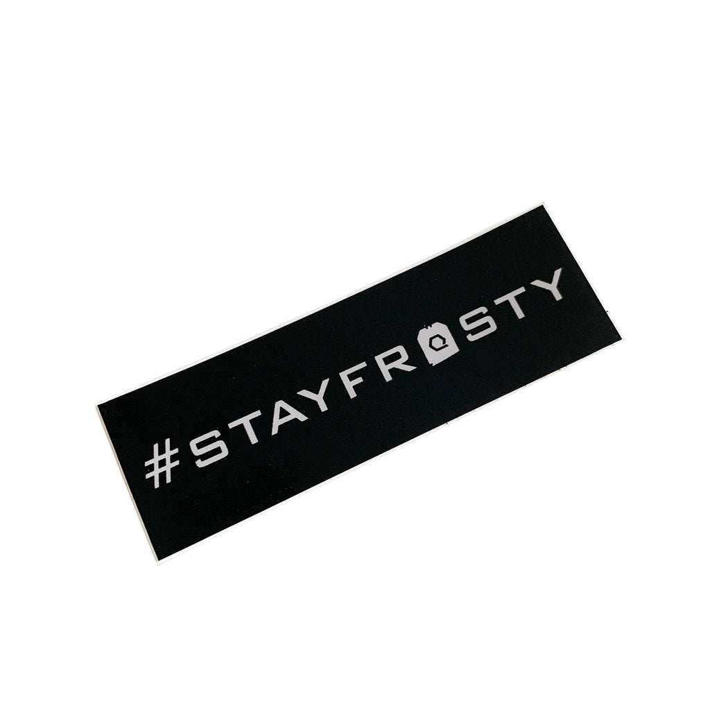#StayFrosty Sticker