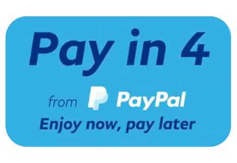 PayPal Pay in 4 Interest-free Payments on TornadoBlender.com