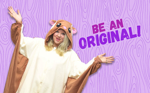 Be an Original Like Alexander Hamilton in Our Flying Squirrel Kigurumi