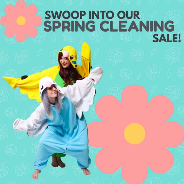 Swoop into our Spring Cleaning Sale!