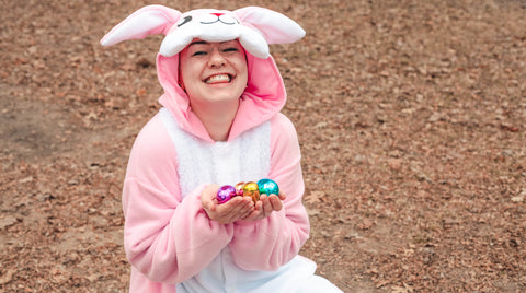 Pink Rabbit Kigurumi Easter